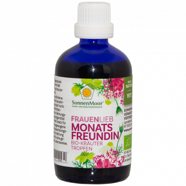 Monatsfreundin Bio-Kräutertropfen 100ml